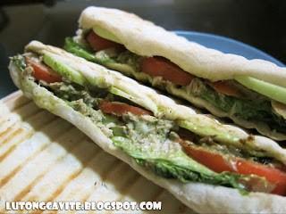Tuna Pesto Salad Ciabatta Sandwich