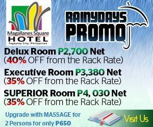 Magallanes square hotel promo