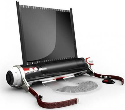ROLL LAPTOP is Amazing new Technology 2012