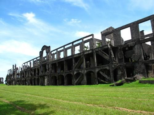 The Rock: Soaking in Sweat In Corregidor