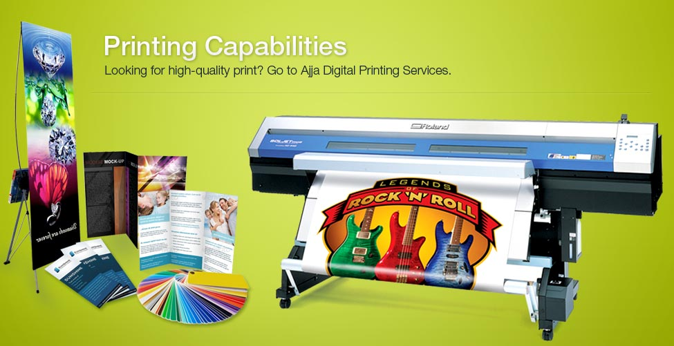 Digital Printing Services : Ajja digital printing services